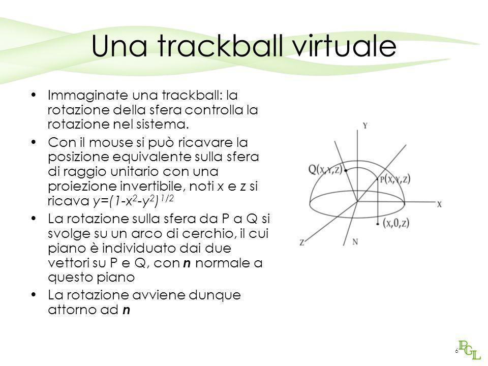 Una trackball virtuale