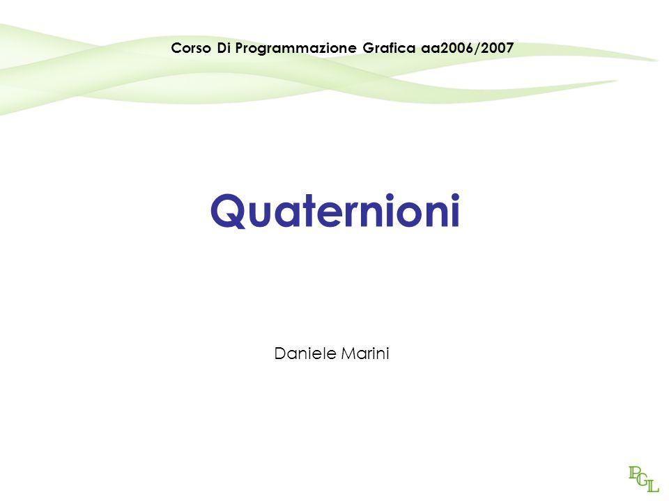 Corso Di Programmazione Grafica aa2006/2007