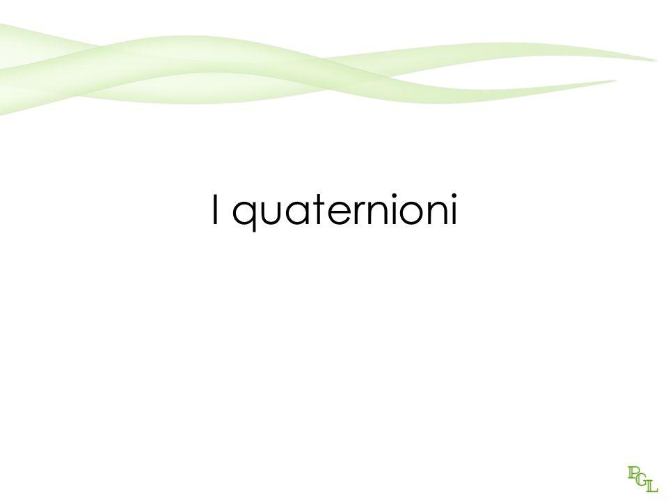 I quaternioni