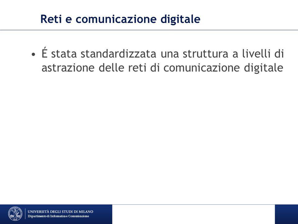 Reti e comunicazione digitale