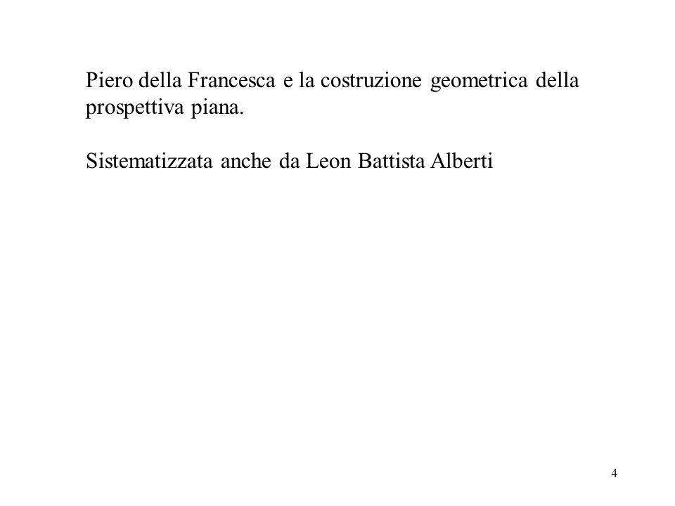 Piero della Francesca e la costruzione geometrica della