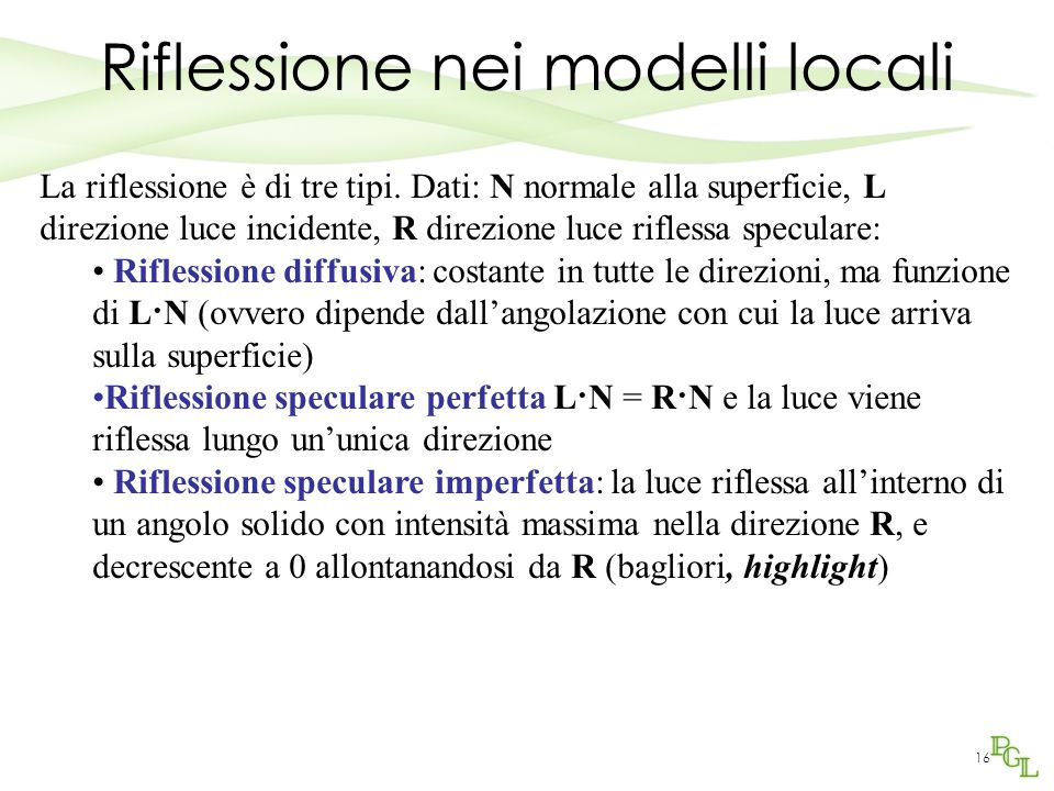 Riflessione nei modelli locali