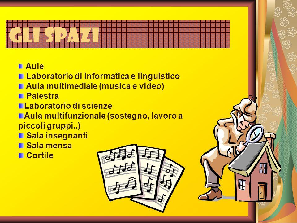 Gli spazi Laboratorio di informatica e linguistico