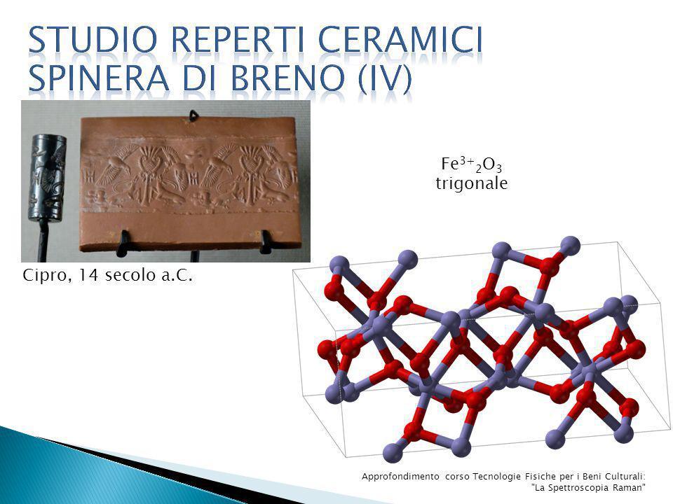 Studio reperti ceramici spinera di breno (IV)