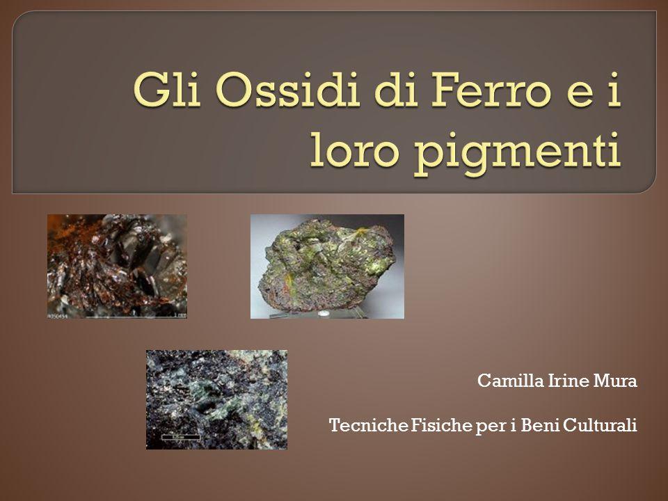 Gli Ossidi di Ferro e i loro pigmenti