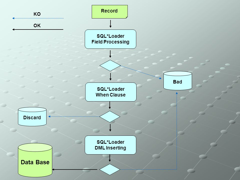 Data Base Record KO OK SQL*Loader Field Processing Bad SQL*Loader