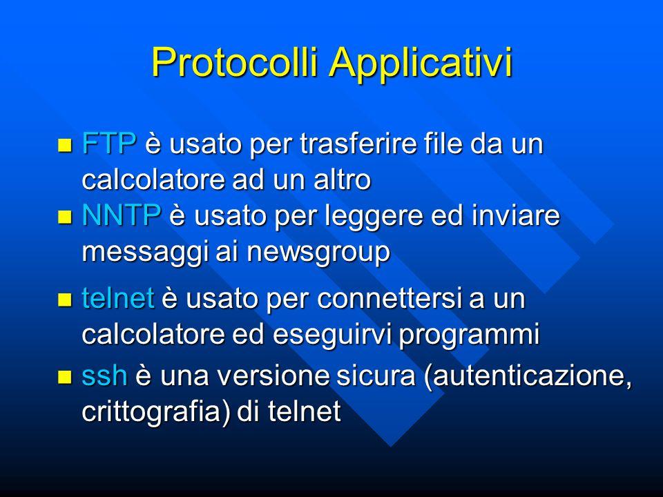 Protocolli Applicativi