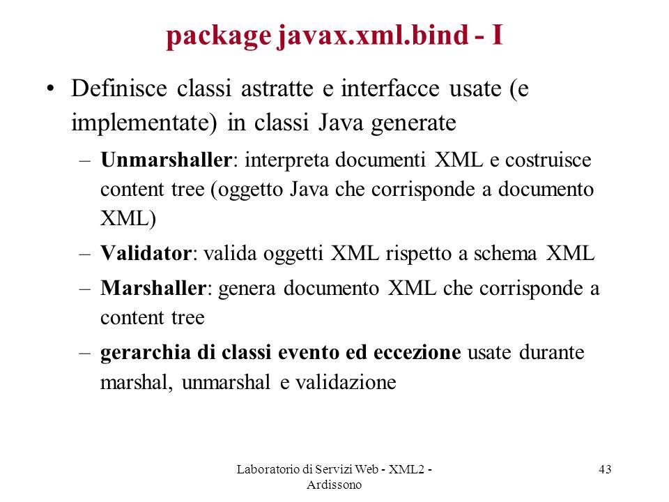package javax.xml.bind - I