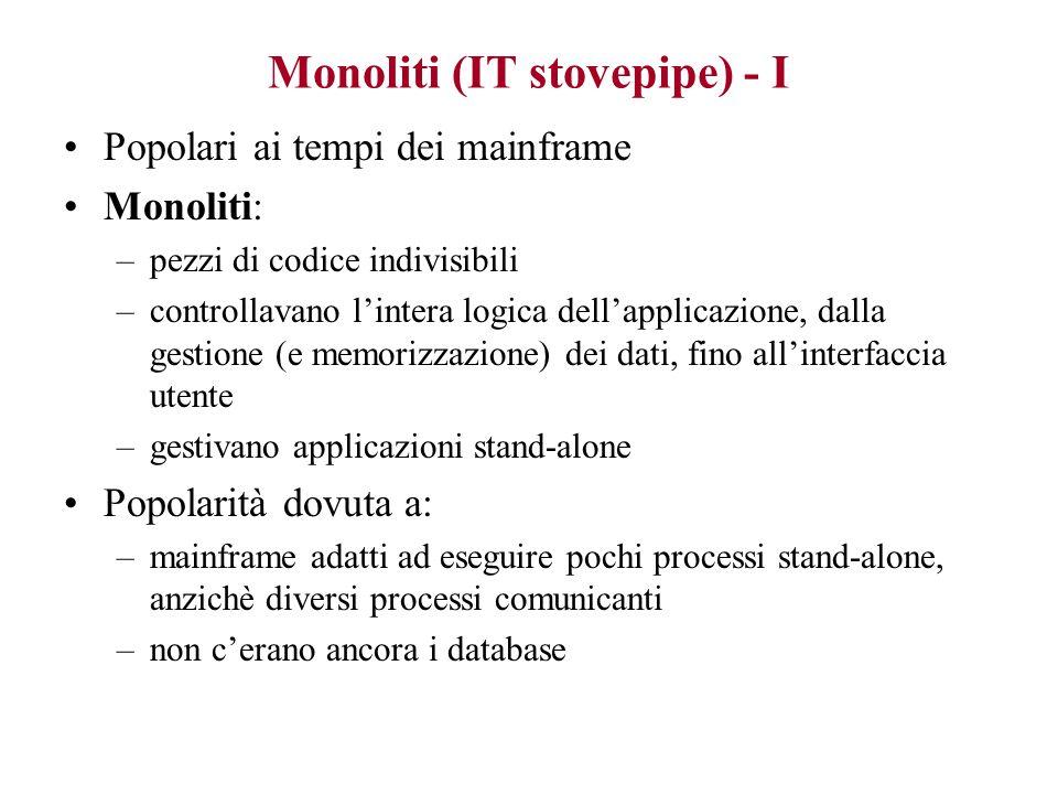 Monoliti (IT stovepipe) - I