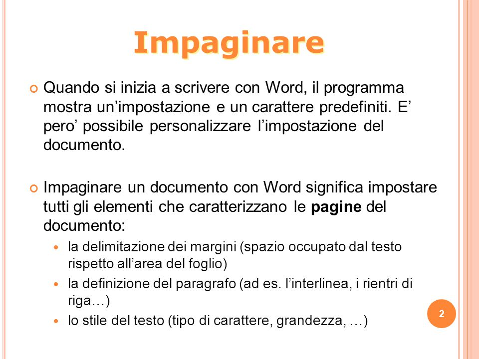 Impaginare