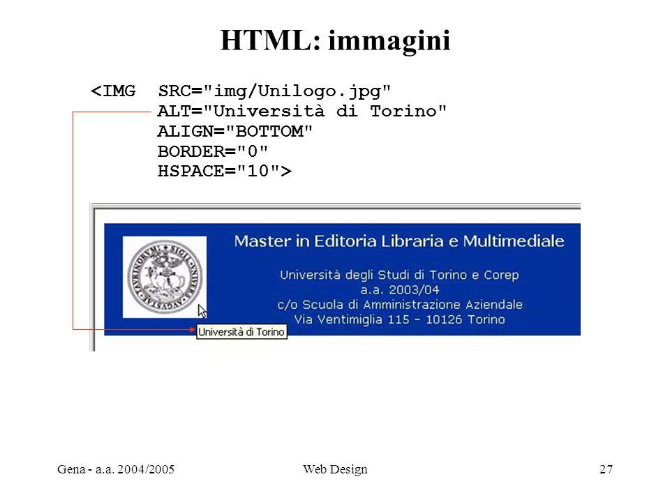HTML: immagini <IMG SRC= img/Unilogo.jpg