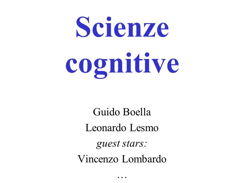 Guido Boella Leonardo Lesmo guest stars: Vincenzo Lombardo …