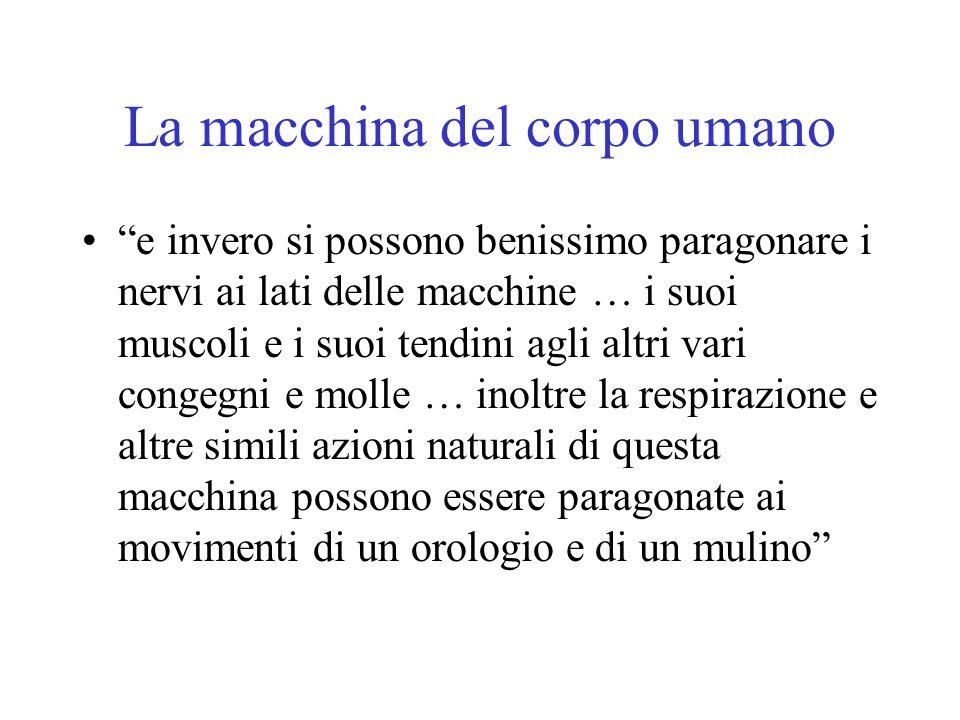 La macchina del corpo umano