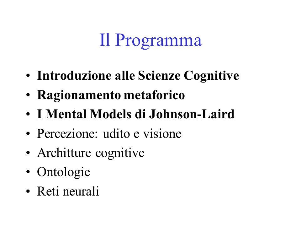 Il Programma Introduzione alle Scienze Cognitive