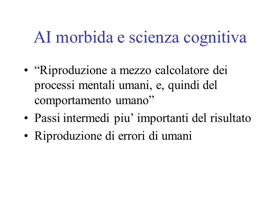 AI morbida e scienza cognitiva