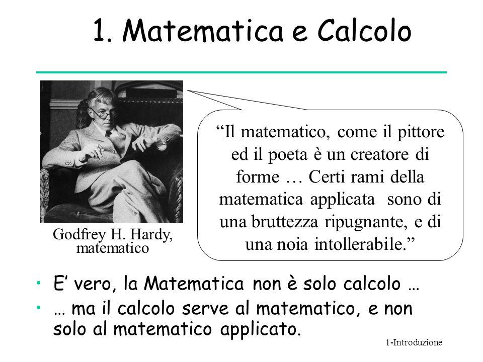1. Matematica e Calcolo