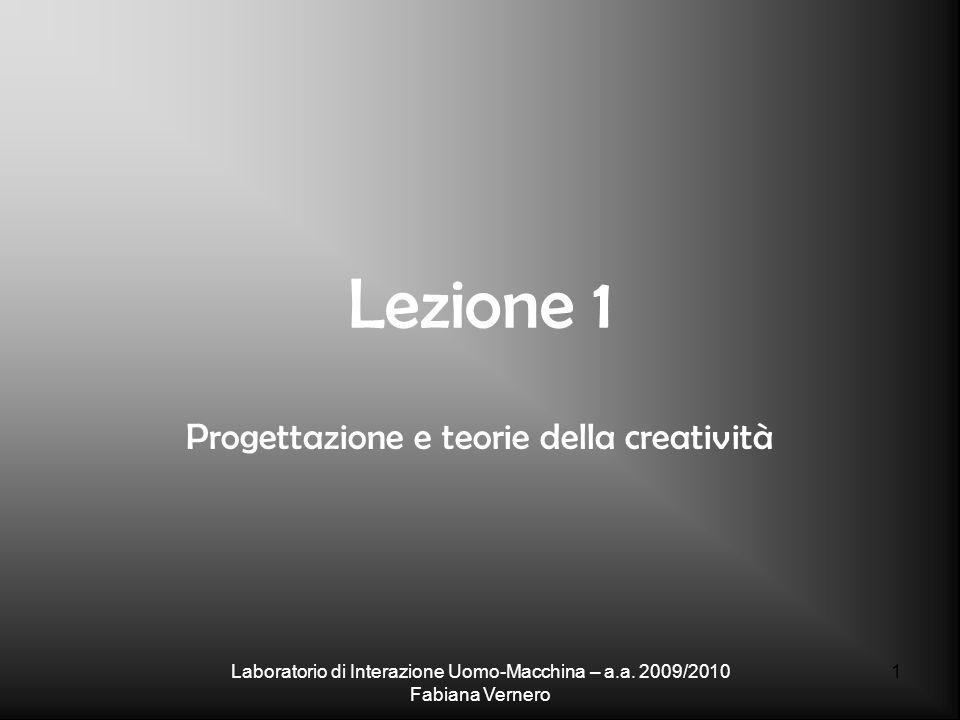 Progettazione e teorie della creatività