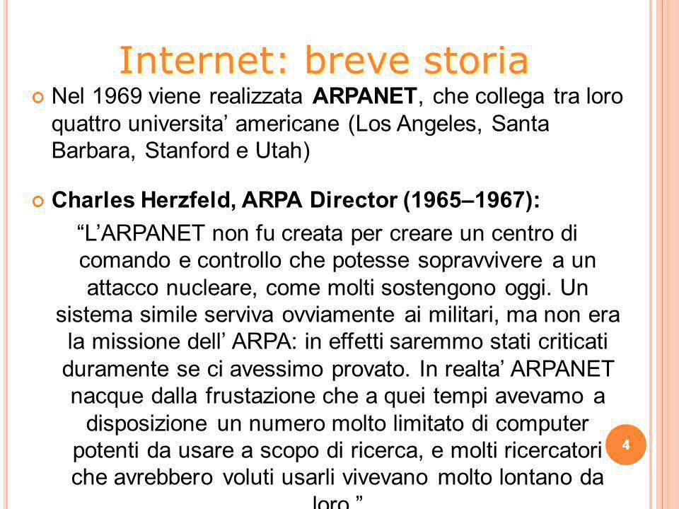 Internet: breve storia