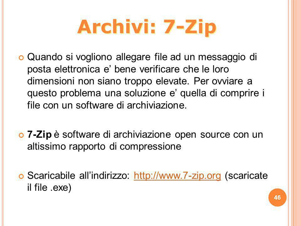 Archivi: 7-Zip