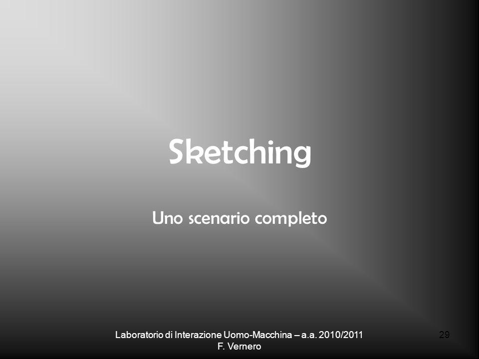 Laboratorio di Interazione Uomo-Macchina – a.a. 2010/2011