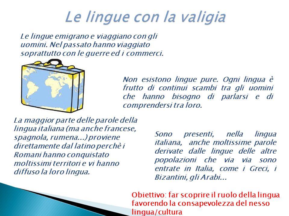 Le lingue con la valigia