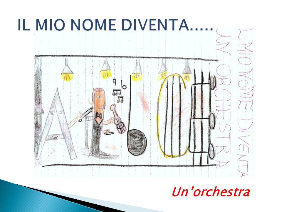 IL MIO NOME DIVENTA..... Un'orchestra