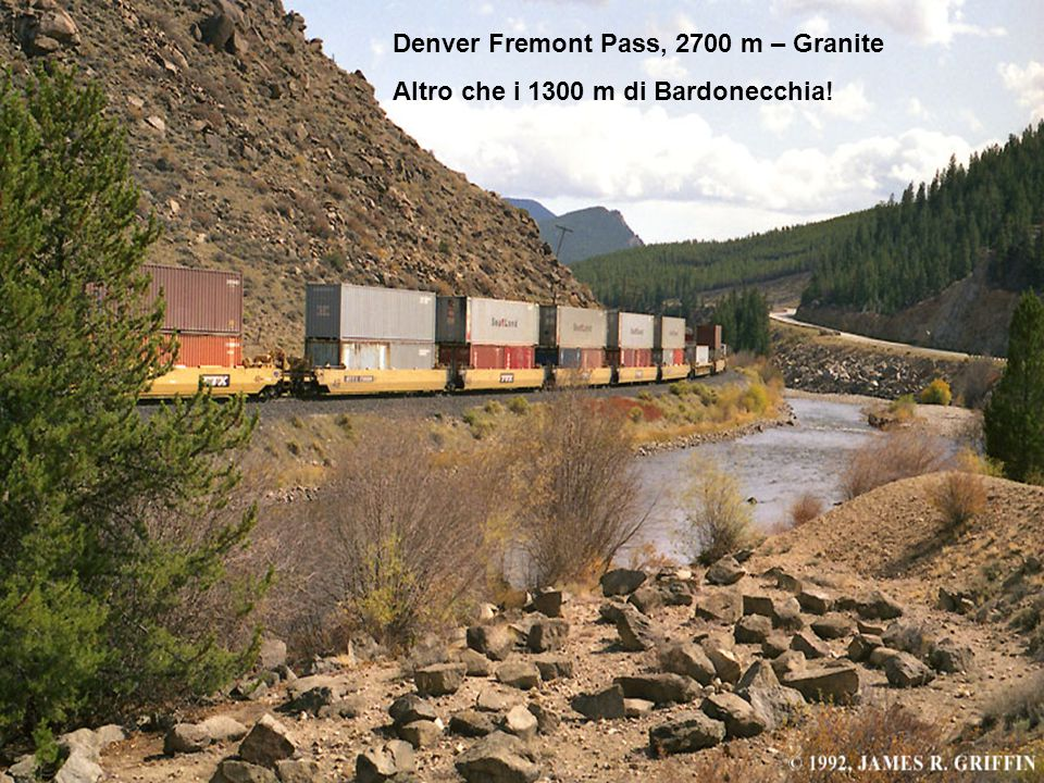 Denver Fremont Pass, 2700 m – Granite