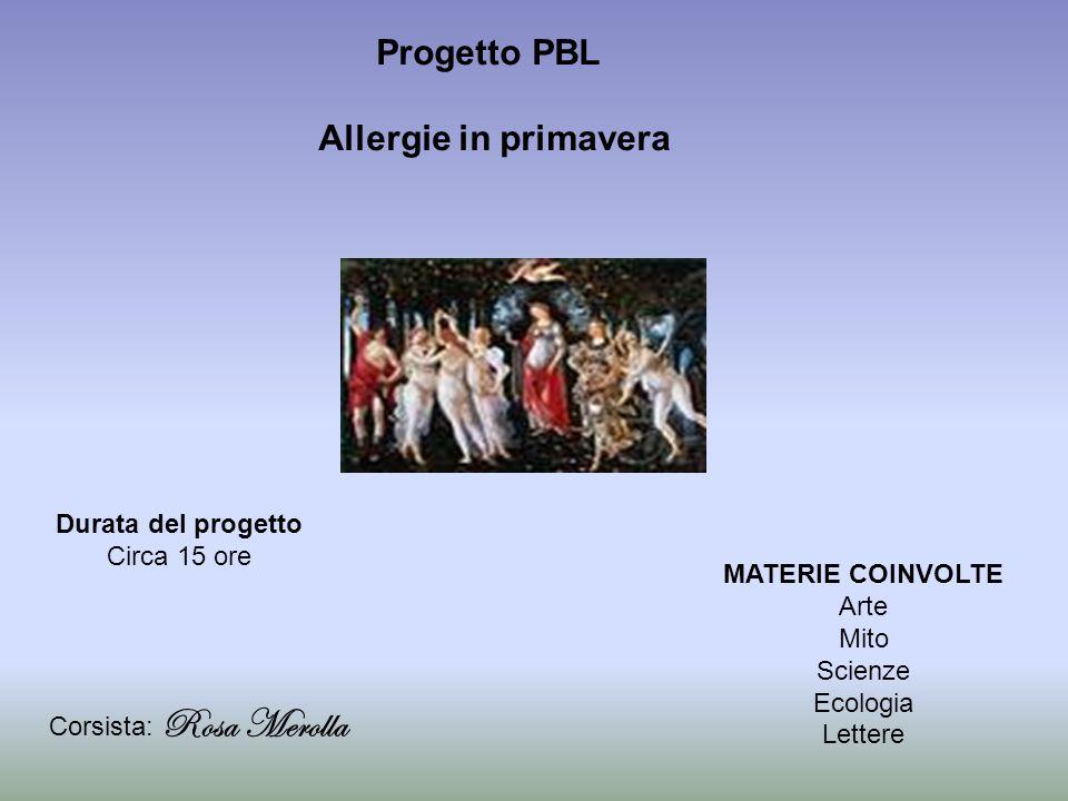 Progetto PBL Allergie in primavera