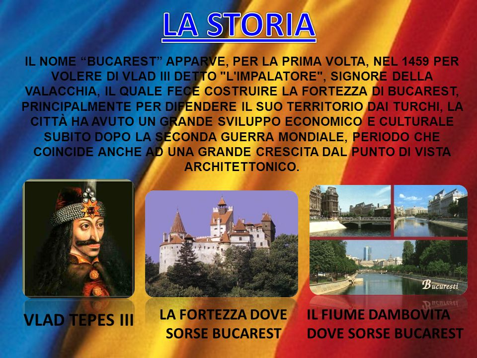 LA FORTEZZA DOVE SORSE BUCAREST
