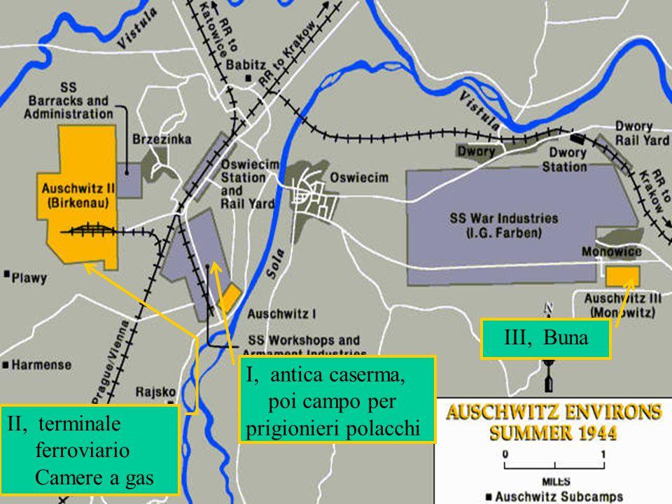 III, Buna I, antica caserma, poi campo per prigionieri polacchi.