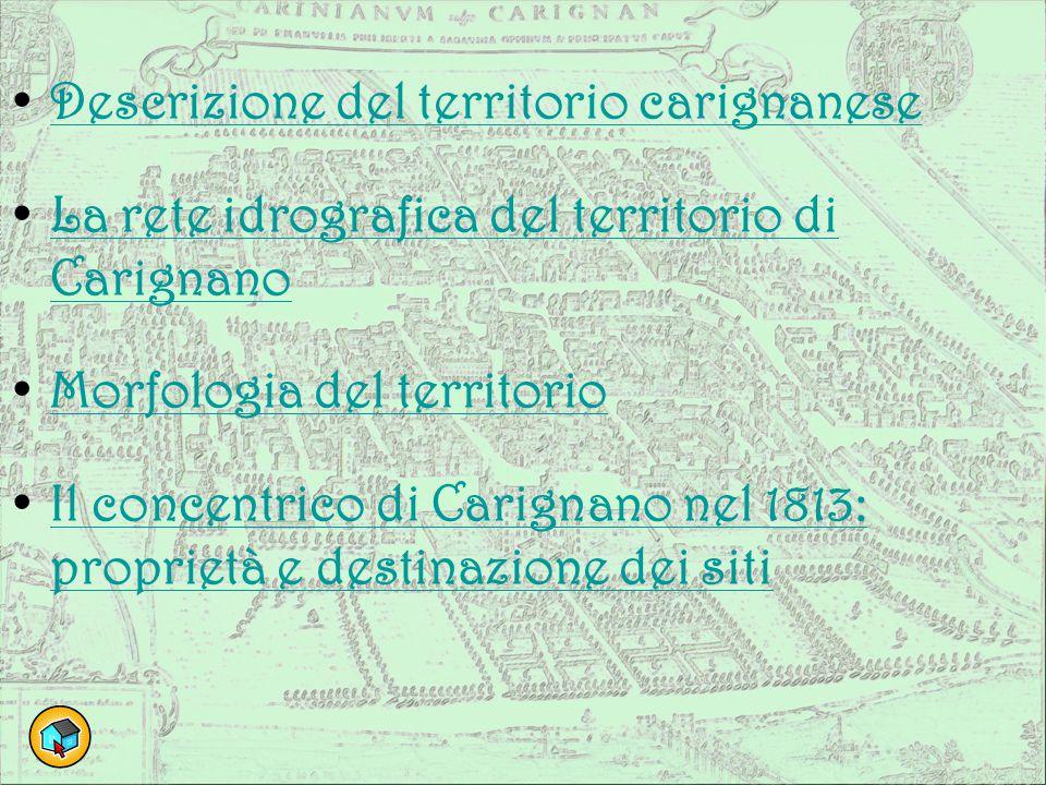 Descrizione del territorio carignanese