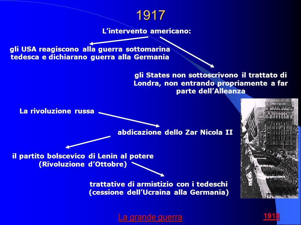 1917 La grande guerra L'intervento americano: 1918