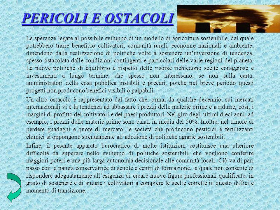 PERICOLI E OSTACOLI