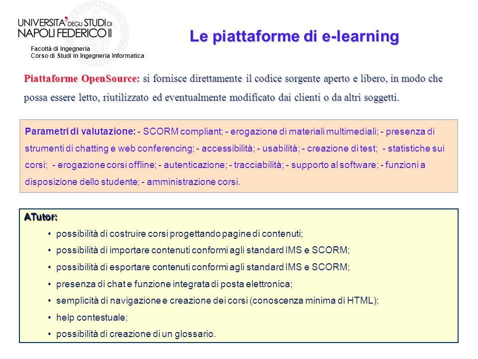 Le piattaforme di e-learning