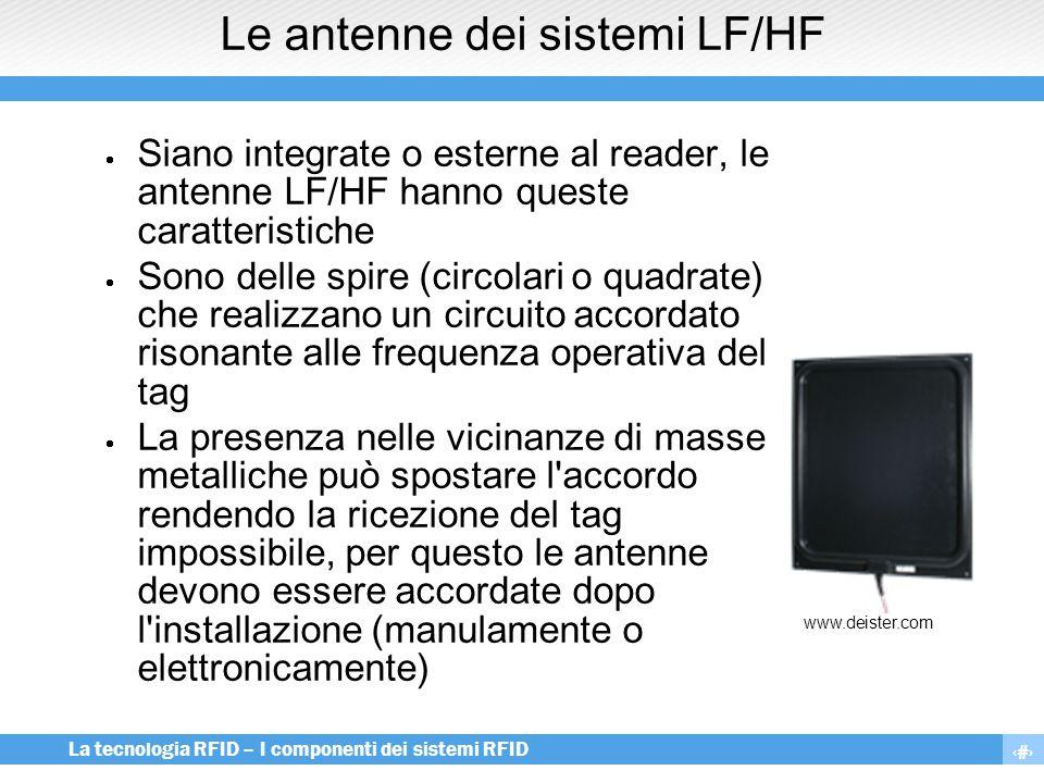 Le antenne dei sistemi LF/HF