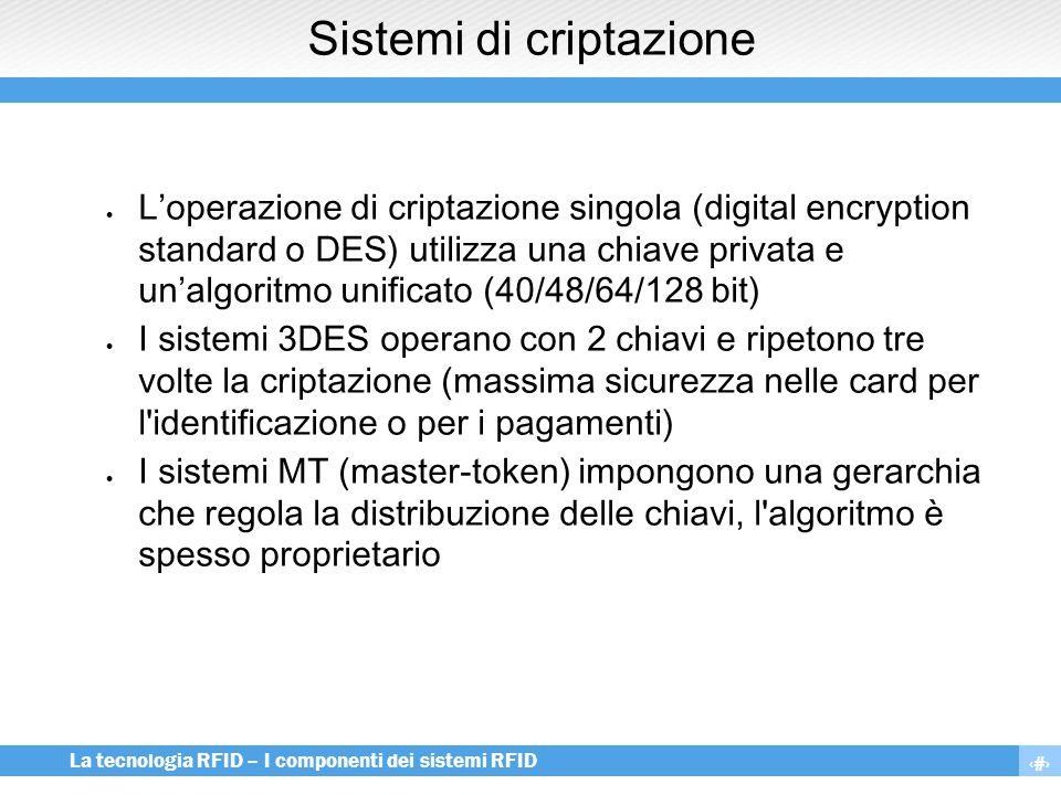Sistemi di criptazione