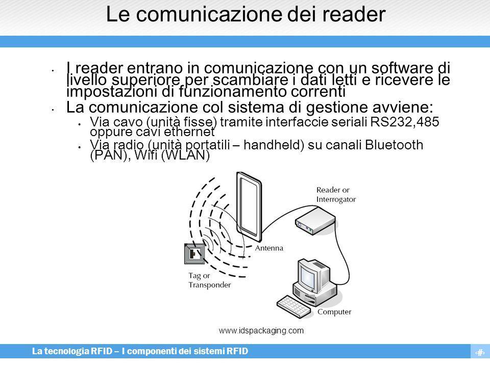 Le comunicazione dei reader