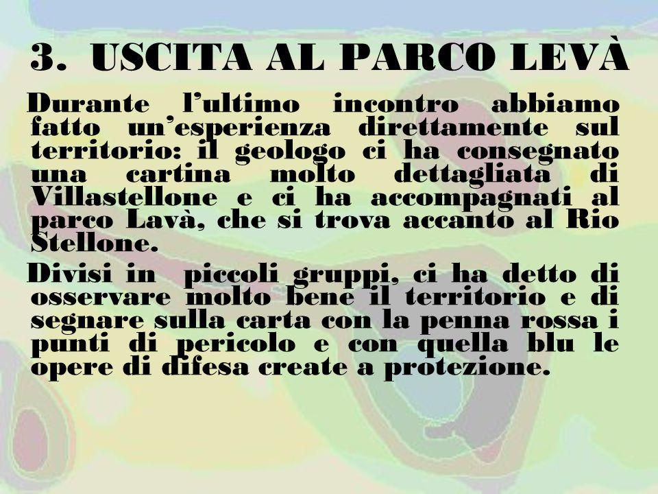 USCITA AL PARCO LEVÀ