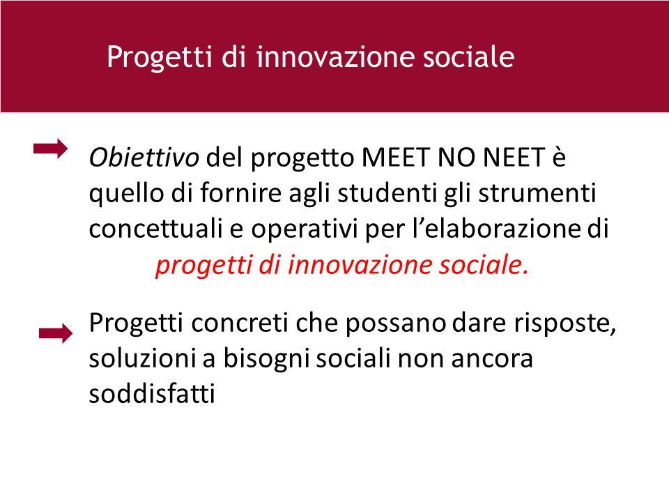 Progetti di innovazione sociale