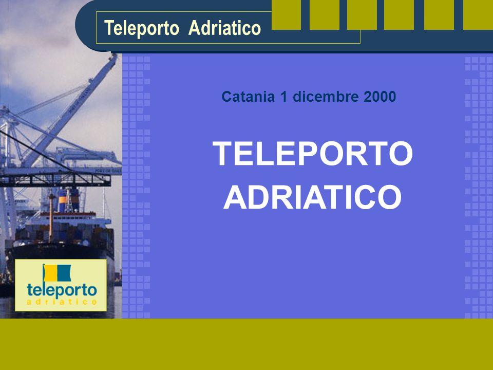 Teleporto Adriatico TELEPORTO ADRIATICO Catania 1 dicembre 2000