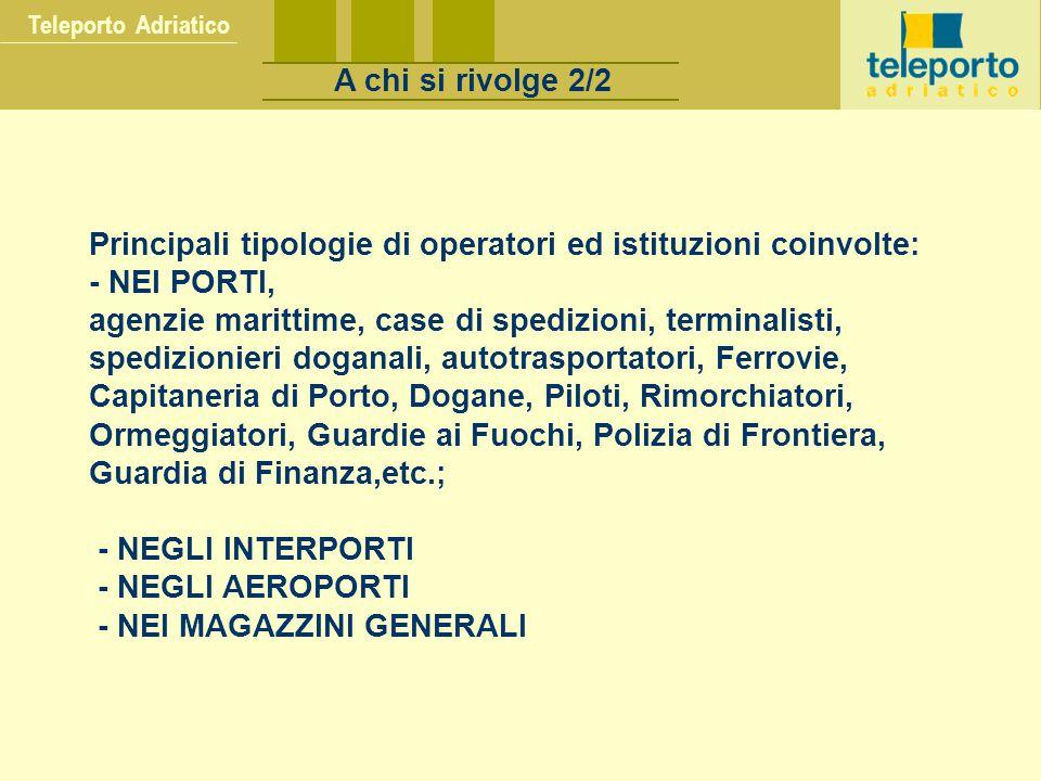Teleporto Adriatico A chi si rivolge 2/2.