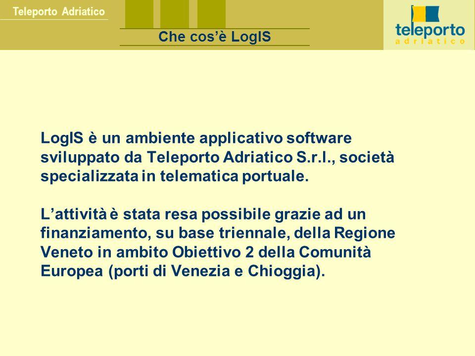 Teleporto Adriatico Che cos'è LogIS.
