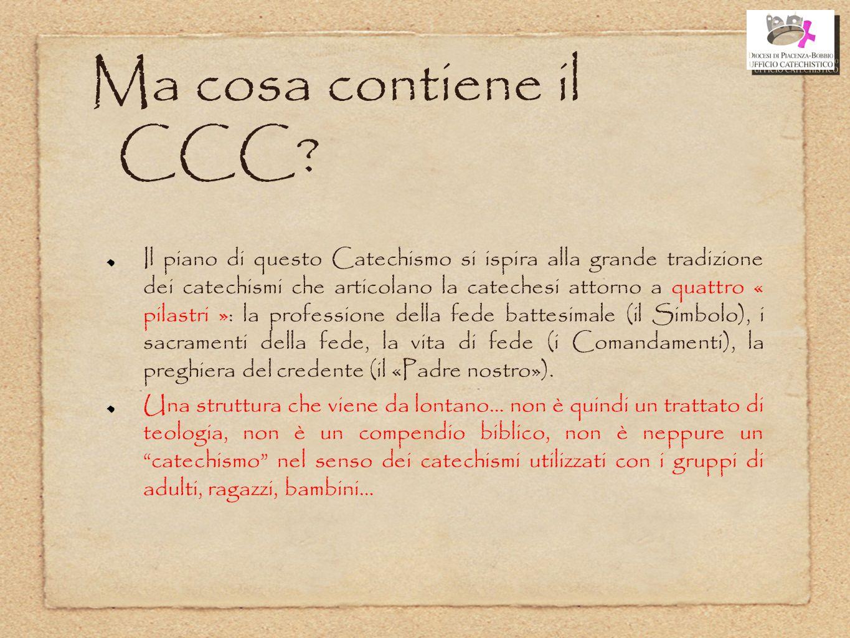 Ma cosa contiene il CCC
