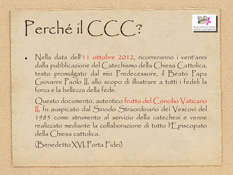 Perché il CCC La ricorrenza di quest'anno
