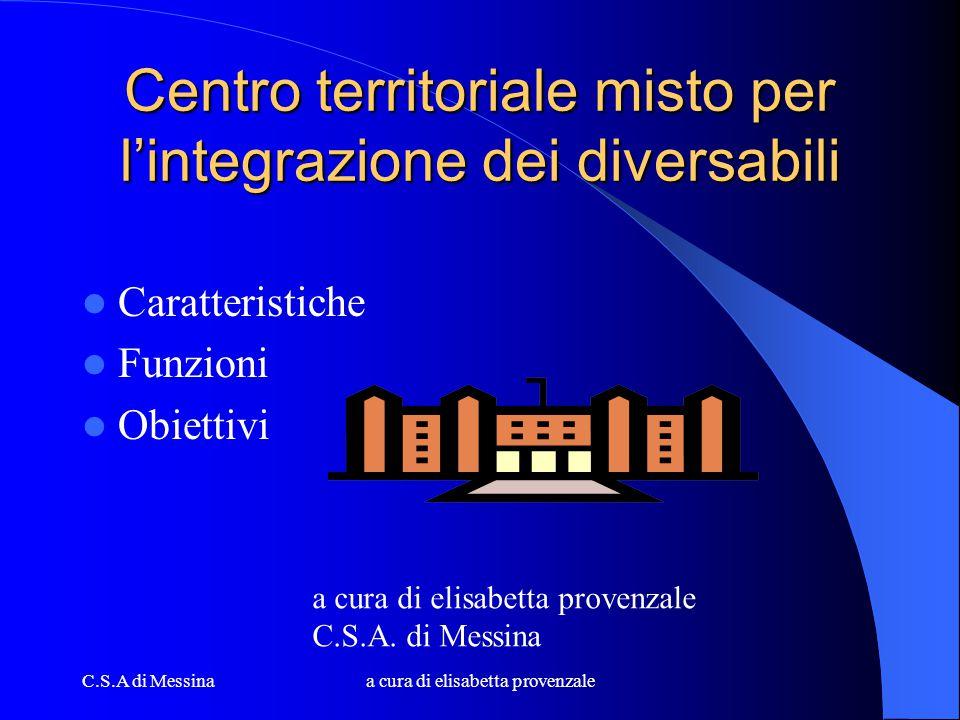 Centro territoriale misto per l'integrazione dei diversabili