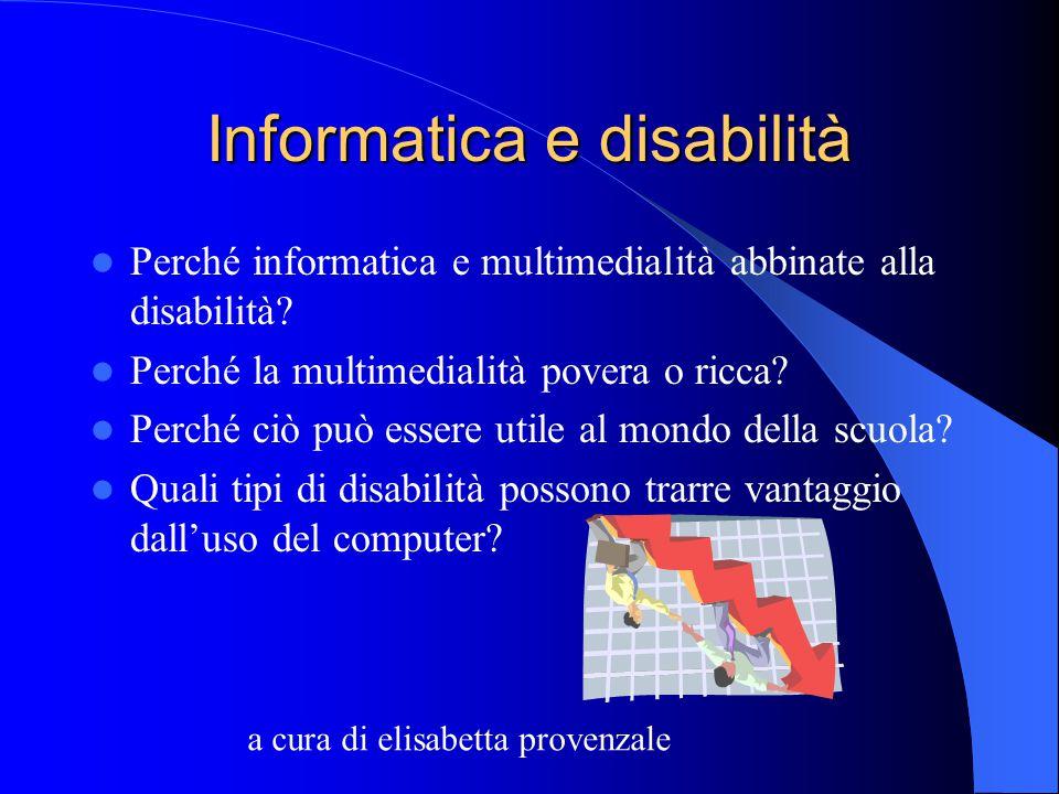 Informatica e disabilità