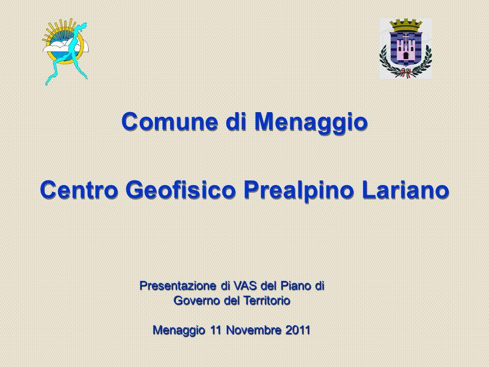 Comune di Menaggio Centro Geofisico Prealpino Lariano