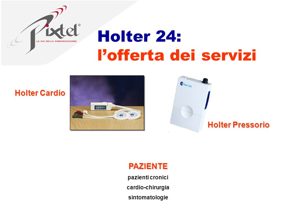 Holter 24: l'offerta dei servizi