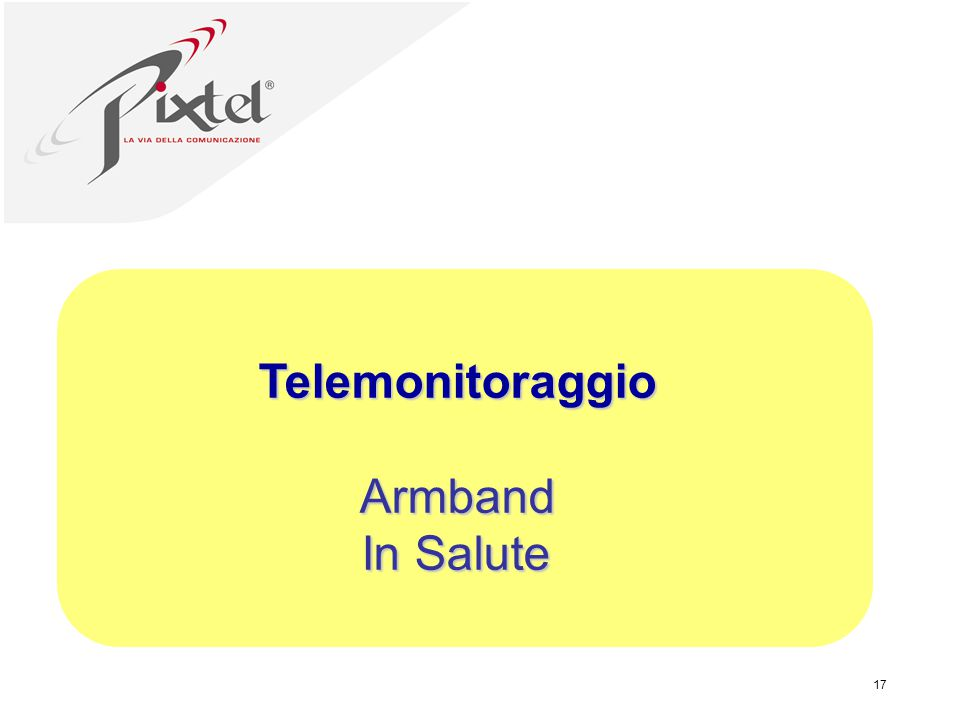 Telemonitoraggio Armband