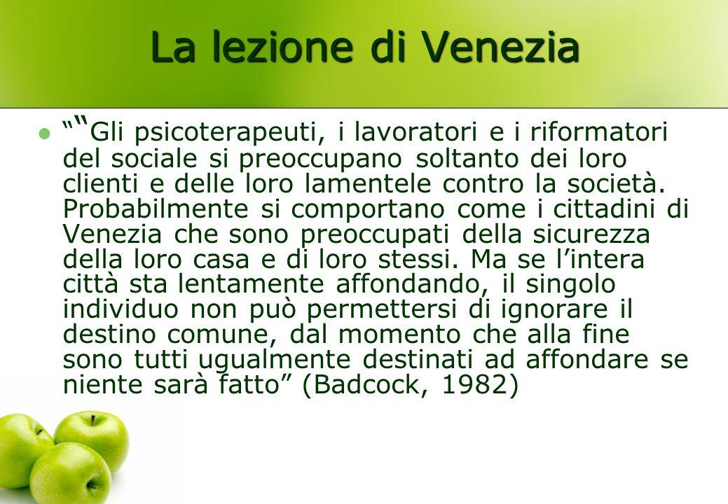 La lezione di Venezia